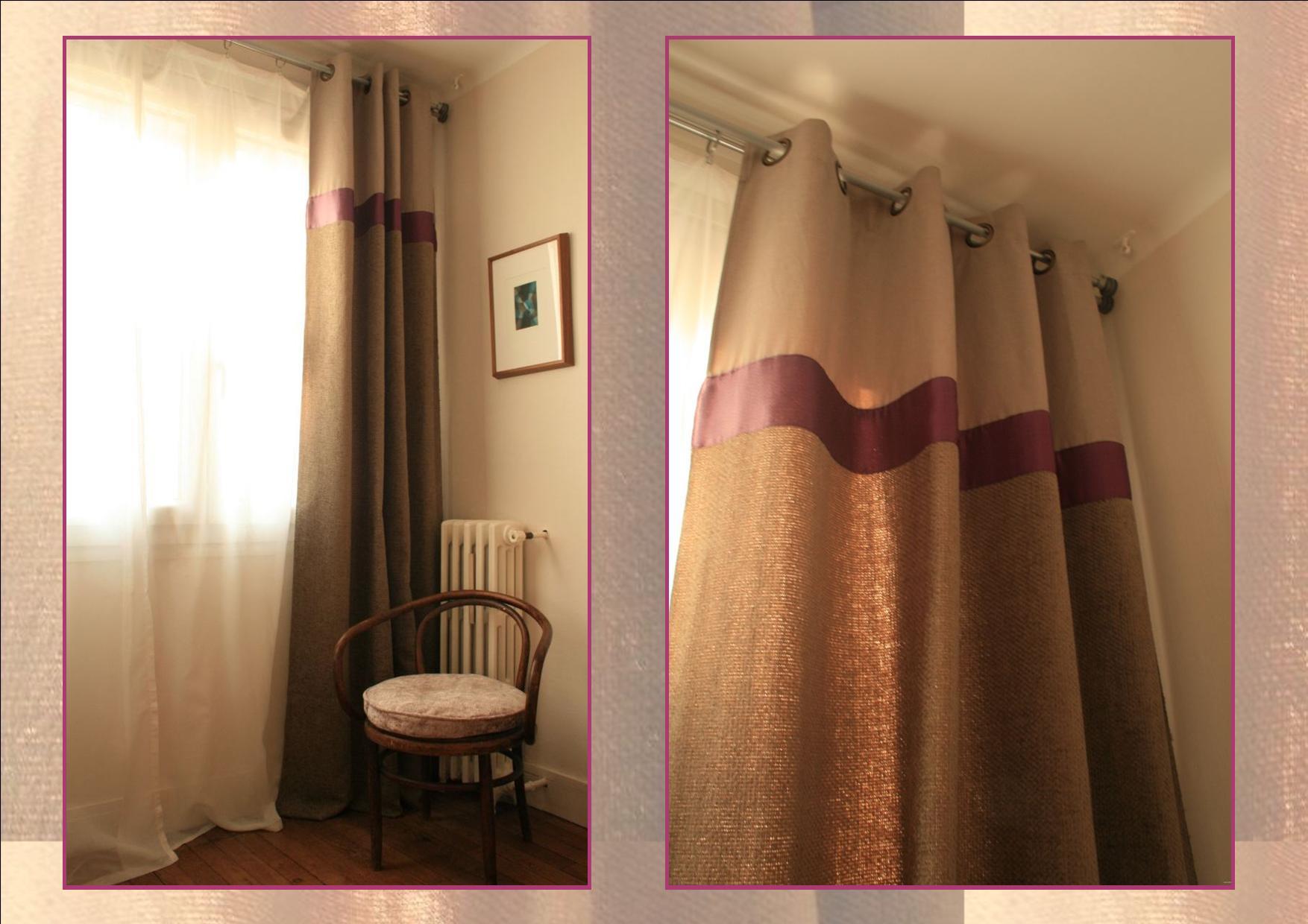 lever de rideaux chocolat et vieilles dentelles. Black Bedroom Furniture Sets. Home Design Ideas