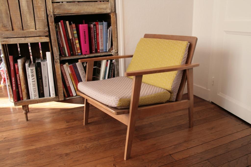 fauteuil scandinave chin et retap chocolat et vieilles dentelles. Black Bedroom Furniture Sets. Home Design Ideas