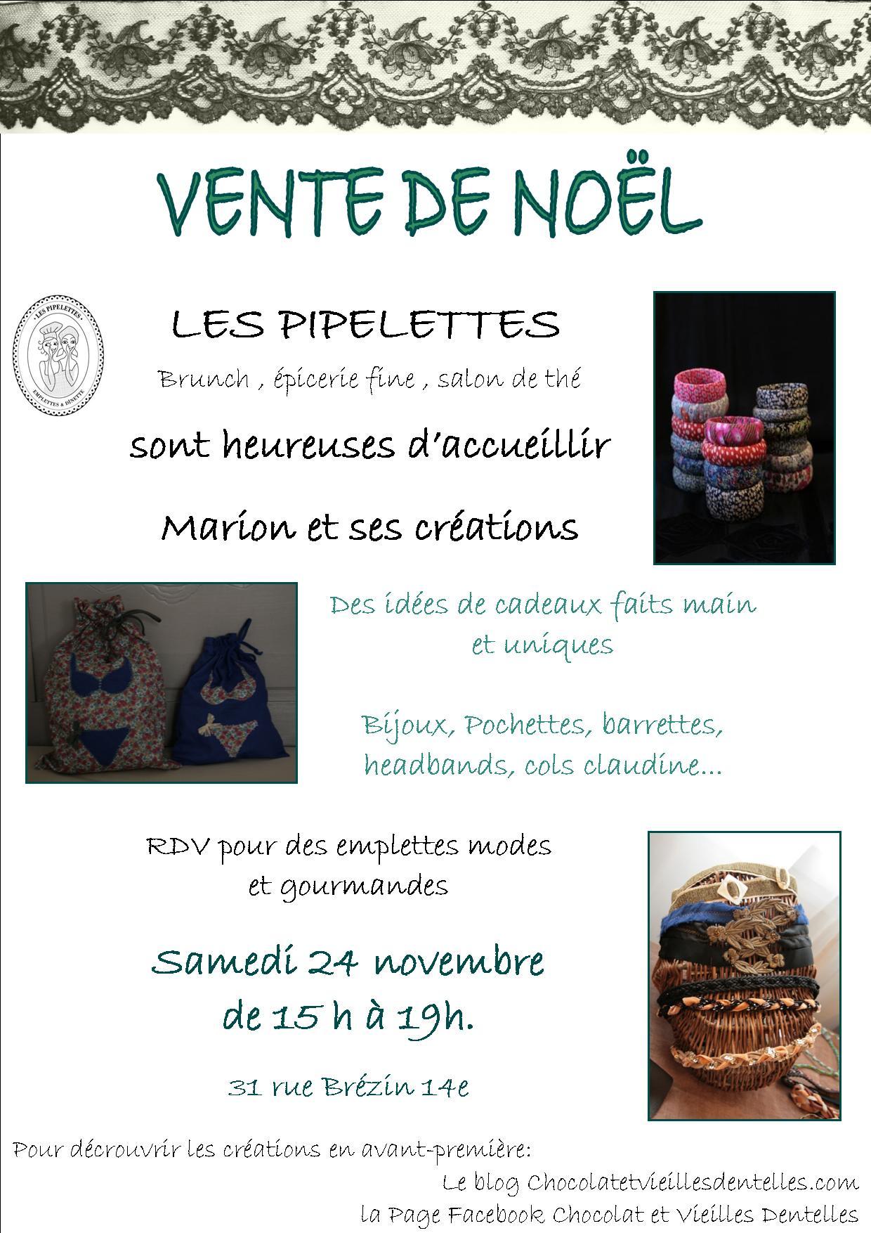 Vente de no l chocolat et vieilles dentelles - Vente des cadeaux de noel ...
