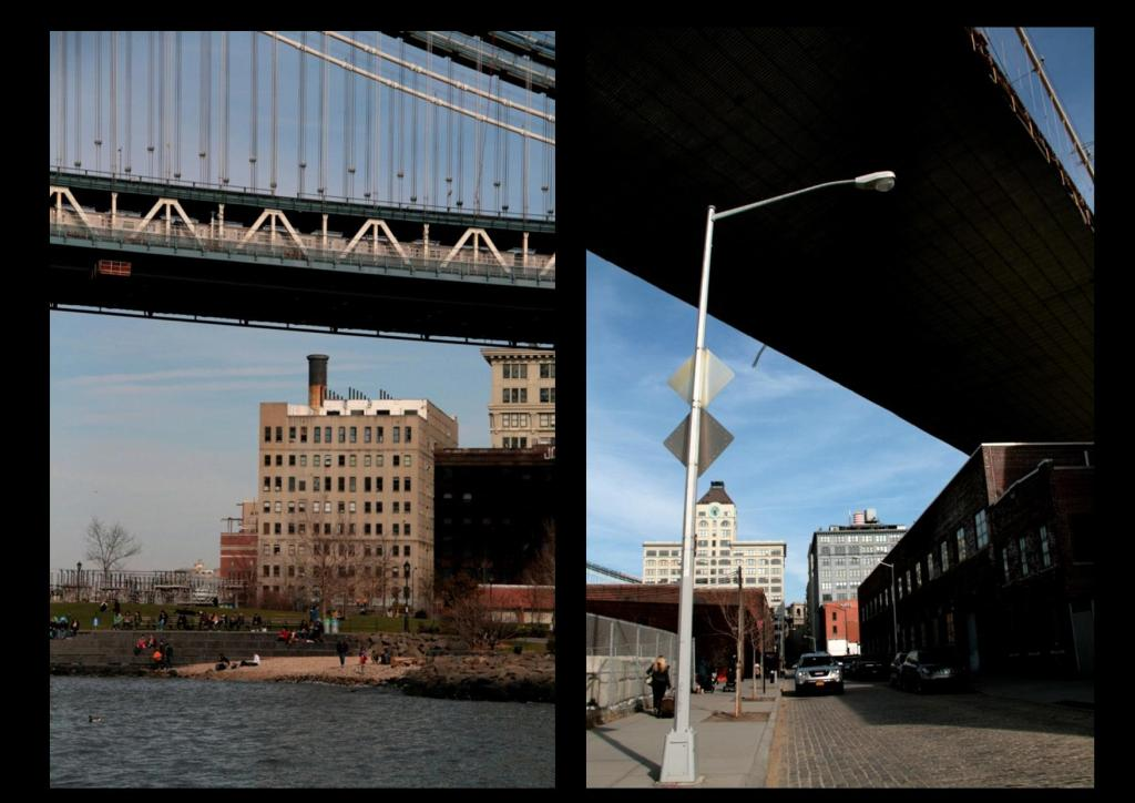 Sous le Brooklyn Bridge /Dumbo