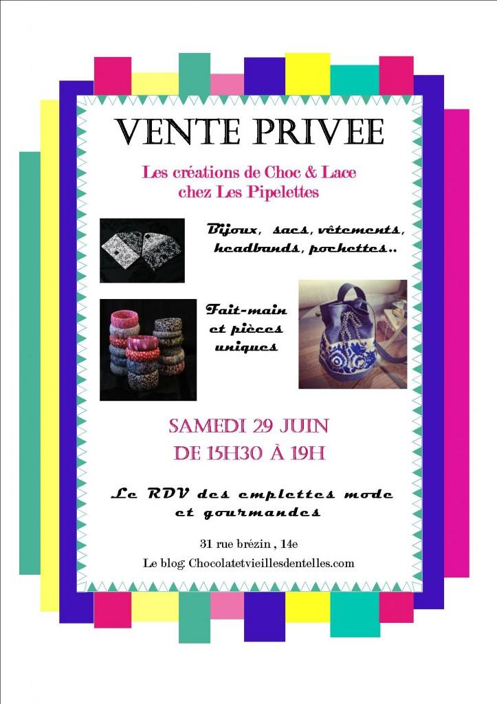 Vente privée juin13 Pipelettes.pub