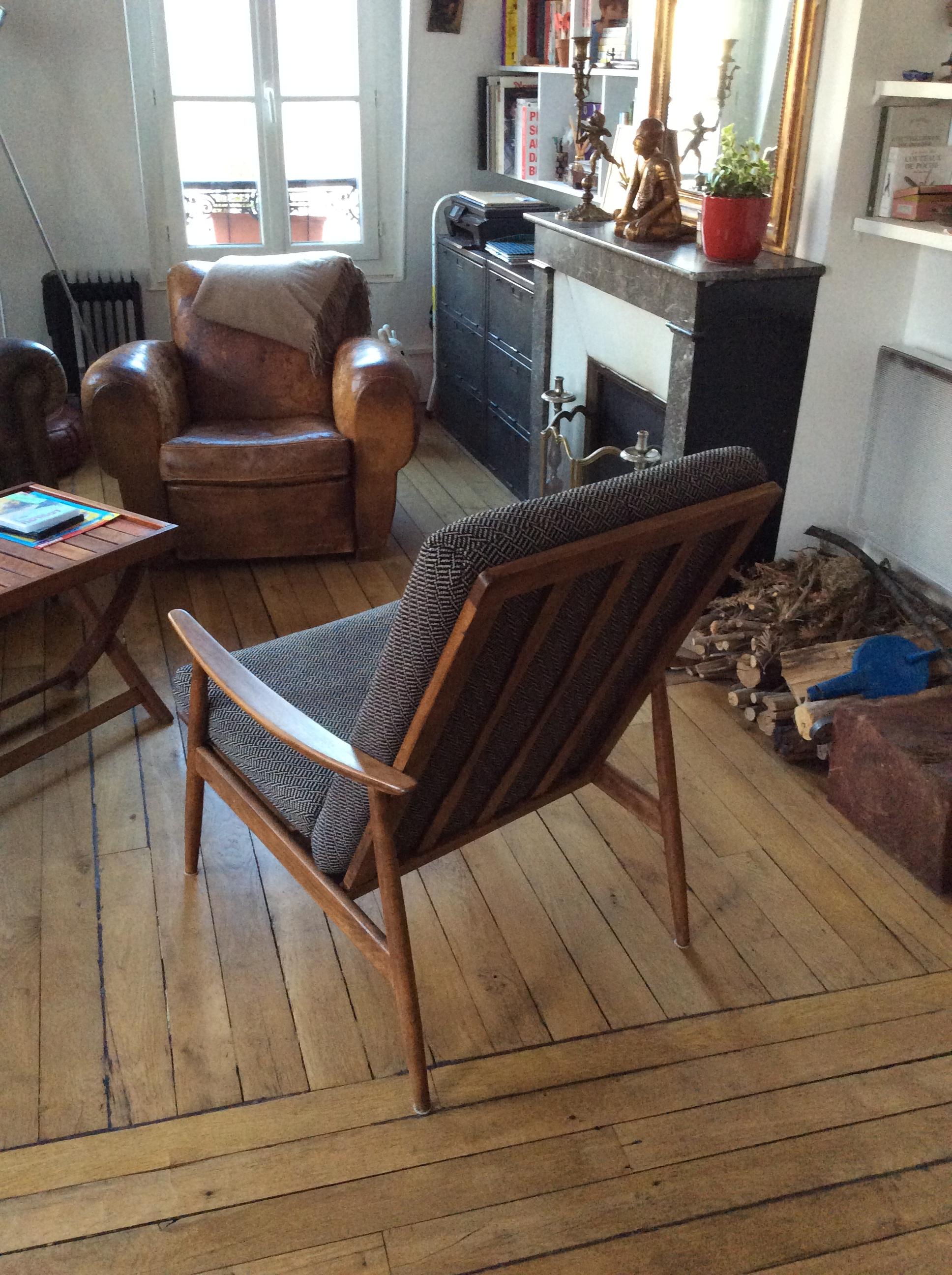 refaire un fauteuil soi m me chocolat et vieilles dentelles. Black Bedroom Furniture Sets. Home Design Ideas