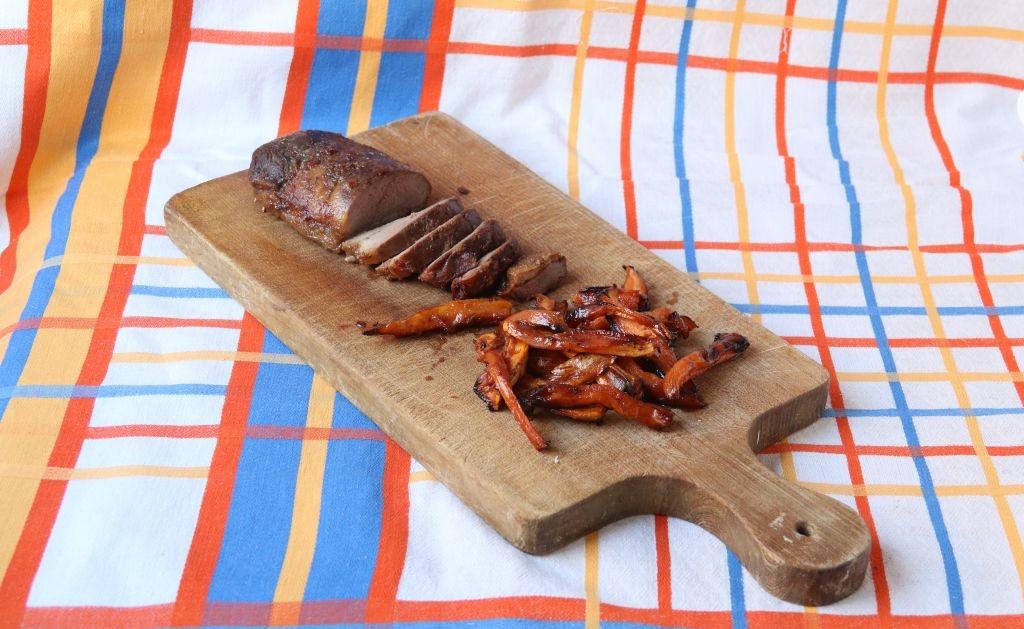 magret mariné, frites de patates douces 012 (2)
