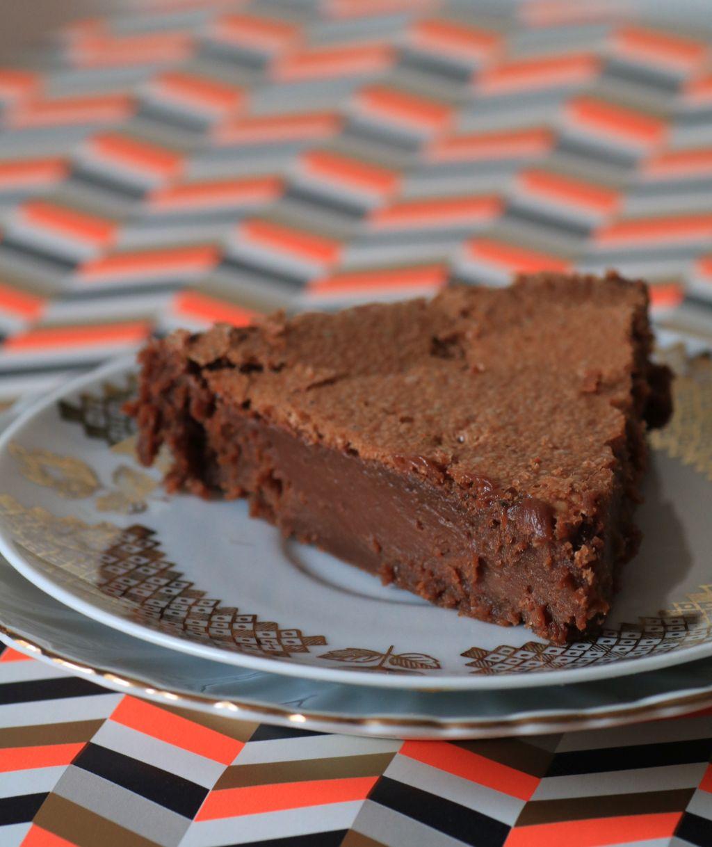 gâteau assassin chocolat caramel