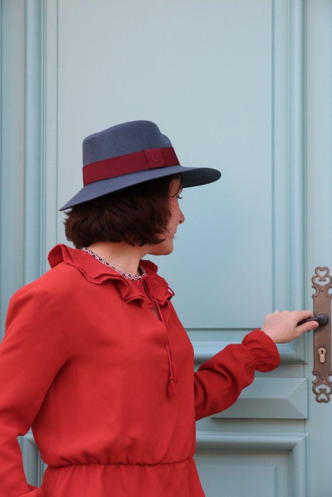 robe rouge marjolaine 054