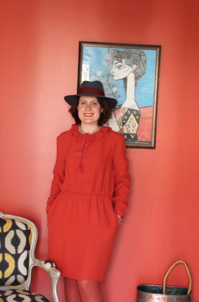 robe rouge marjolaine 067
