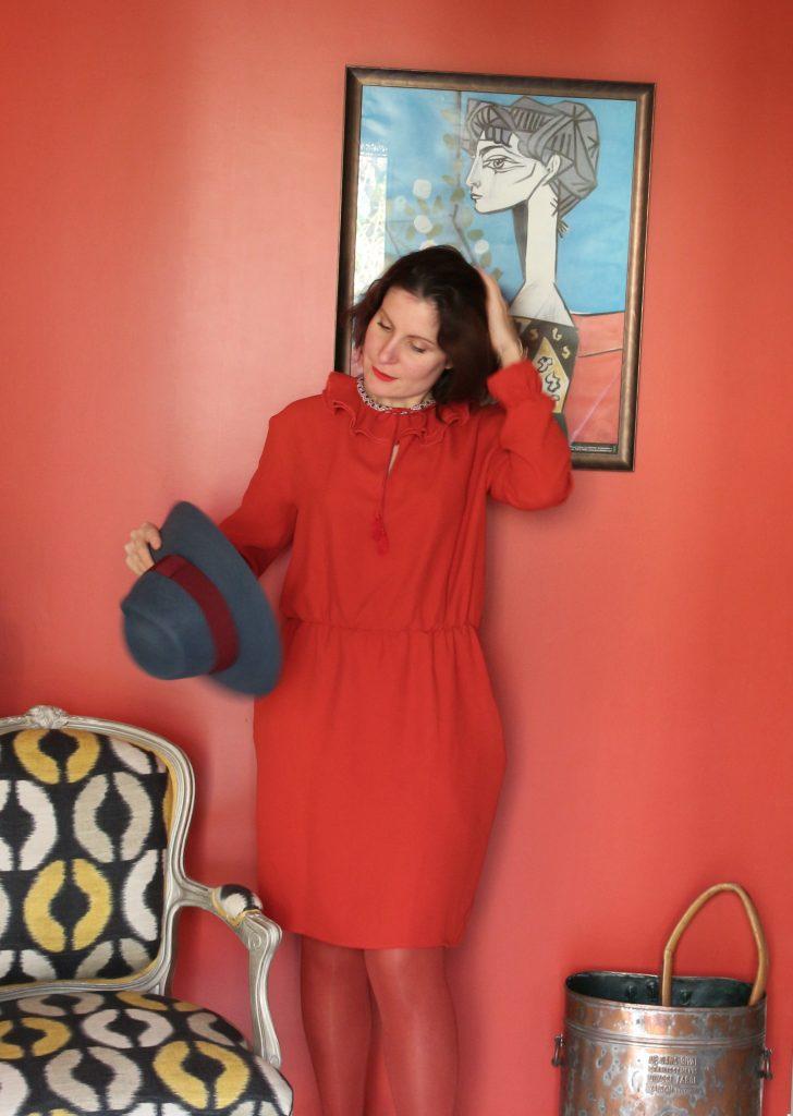 robe rouge marjolaine 068